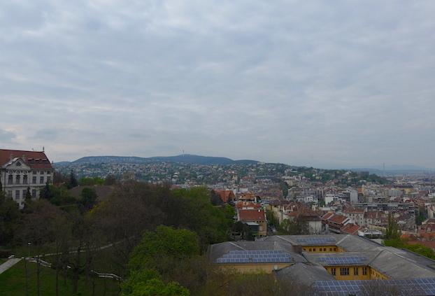 Вид Будапешта