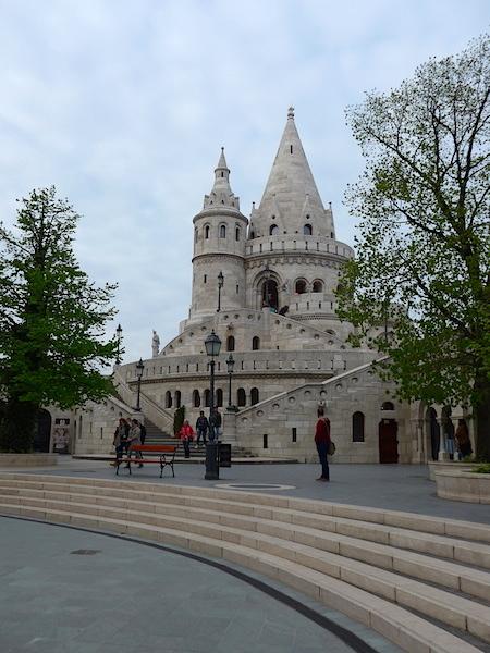 Рыбацкий бастион в Будапеште - главная башня