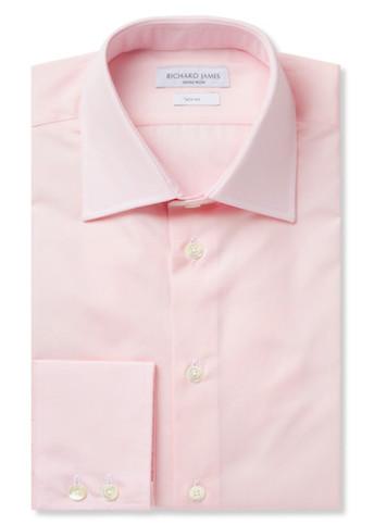 Richard James - розовая рубашка