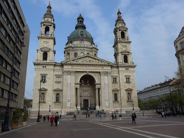 Площадь Святого Стефана в Будапеште