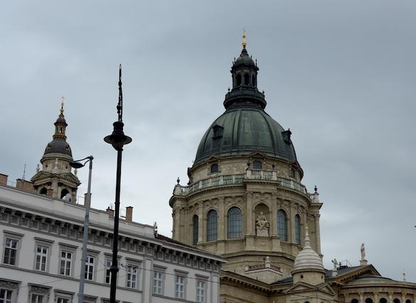 Будапешт - купол собора Святого Стефана