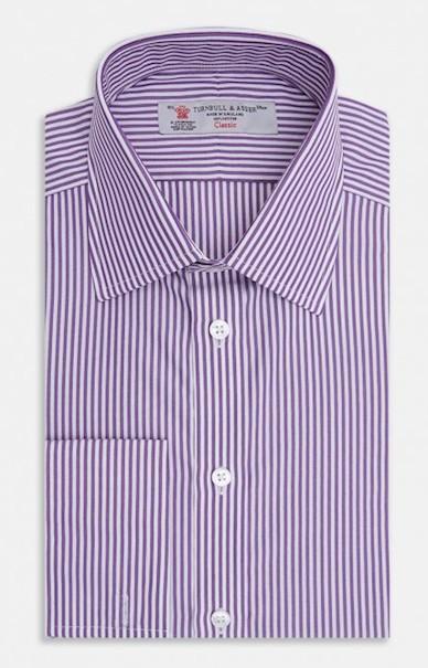 Полосатая рубашка Turnbull & Asser