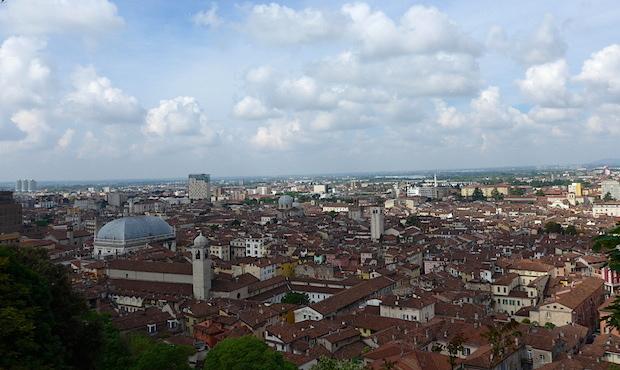 Castello di Brescia - panorama