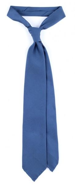 Однотонный галстук из репса