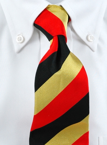 Клубный галстук - репс
