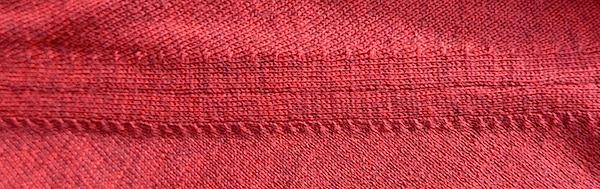 Fully fashioned свитер - пройма