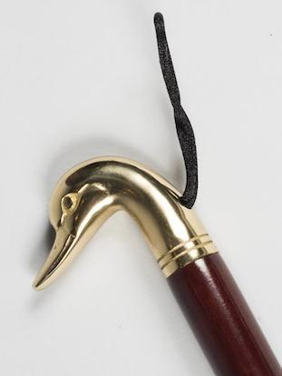 Фигурный рожок для обуви с ручкой в виде головы утки