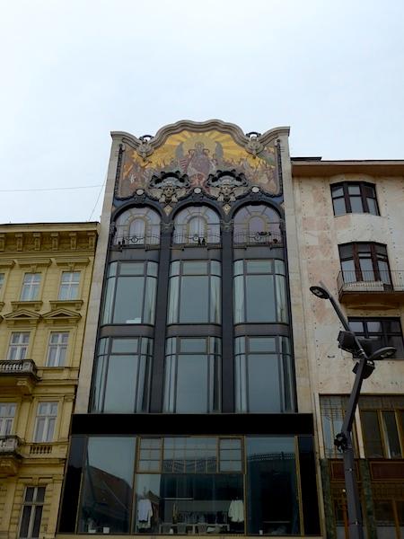 Здание Тёрёк в Будапеште