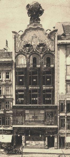 Дом Тёрёк в 1910 году