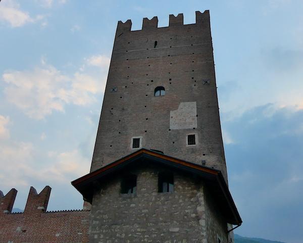 Башня Ванга в городе Тренто