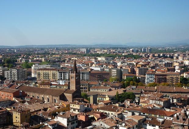 Панорама с башни Ламберти
