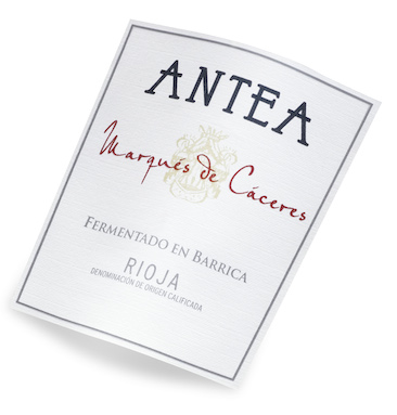Marques de Caceres Antea - этикетка