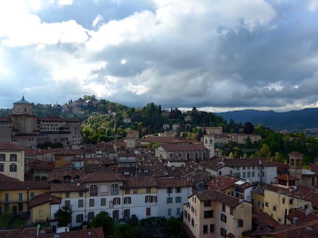 Еще одна панорама Бергамо