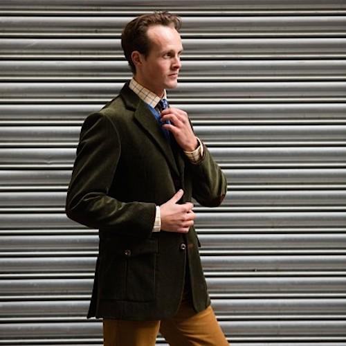 Вельветовый пиджак Cordings