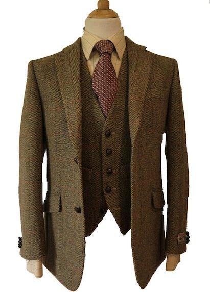 Твидовый костюм Harris Tweed