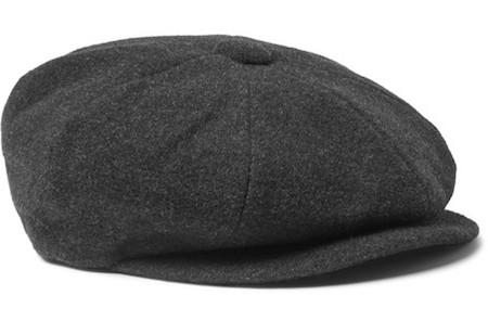 Английская кепка из шерсти с кашемиром Lock & Co