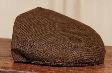 Английская кепка из твида - Purdey