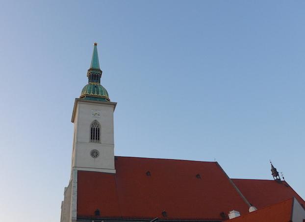 Башня собора святого Мартина