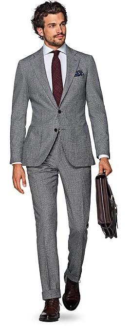 Фланелевый костюм Suitsupply