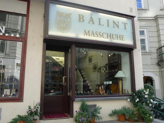Магазин Balint в Вене