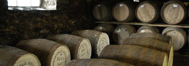 Бочки вискикурни Bunnahabhain