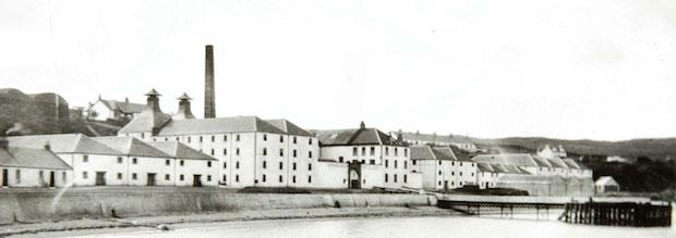Старое фото Bunnahabhain