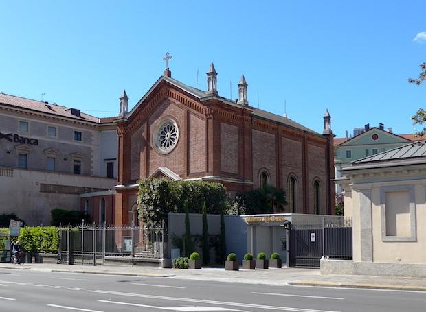 Церковь Вальдезе в Бергамо