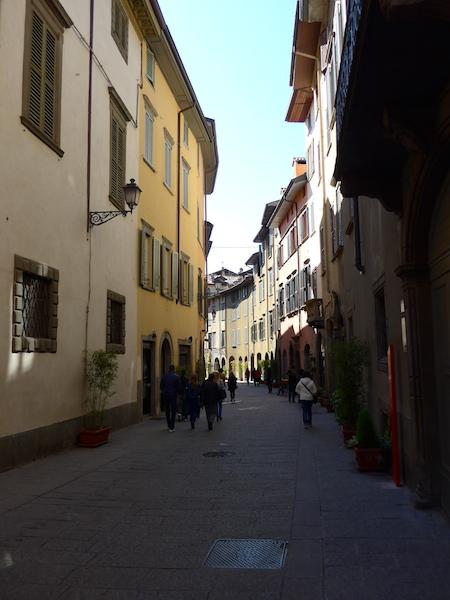 Бергамо - нижний город