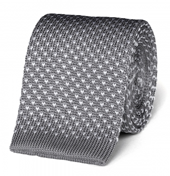 Вязаный галстук Gieves & Hawkes