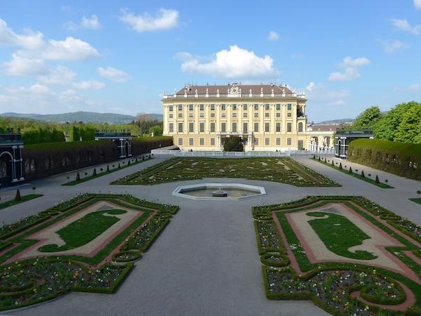 Сад кронпринца в Шенбрунне