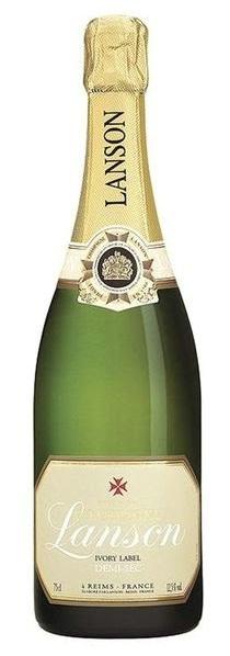Полусладкое шампанское Lanson