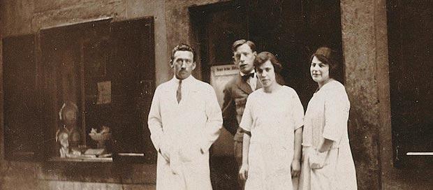 Кондитерская Loacker в 1920-е годы
