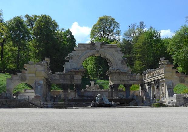 Руины в Шенбрунне