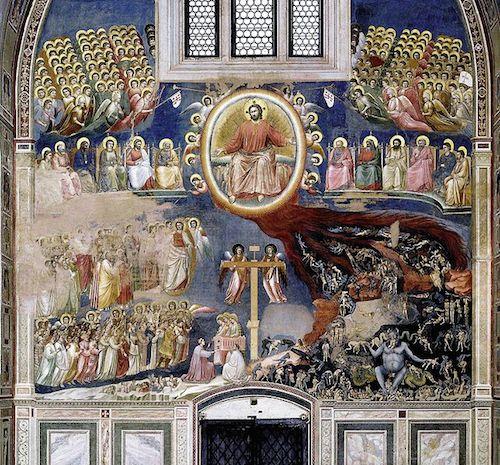 Фреска в капелле Скровеньи