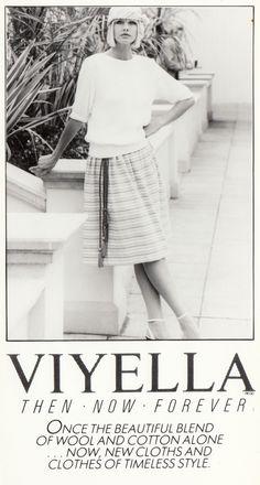 Viyella - старая реклама
