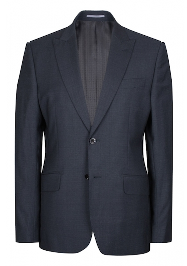 Hardy Amies worsted wool suit