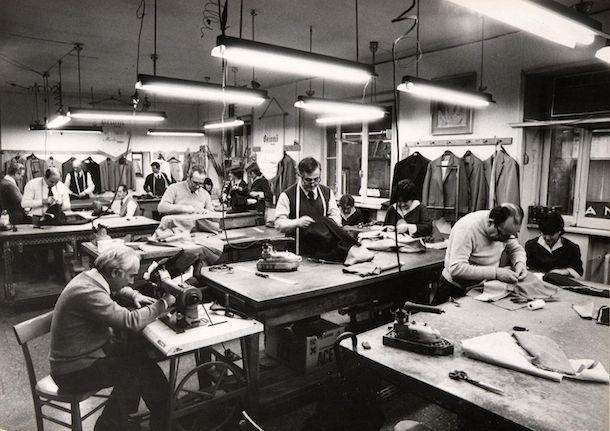 Brioni manufacturing