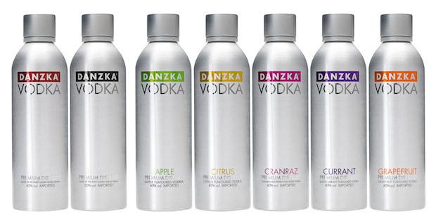 Водка Danzka - ассортимент
