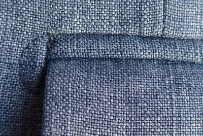 Полу-луна - карман пиджака
