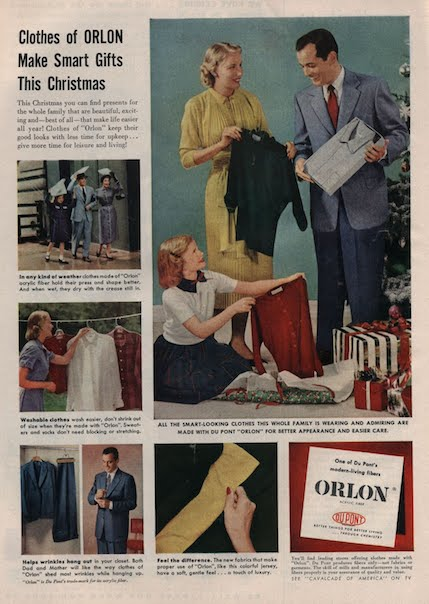 Реклама акрила Orlon