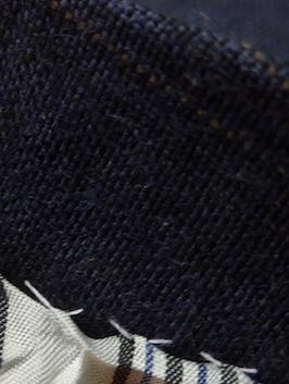ручные швы на пиджаках