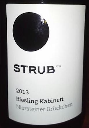 Strub Riesling 2013