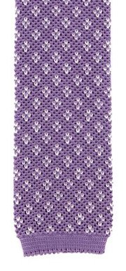 Barba knitted silk tie