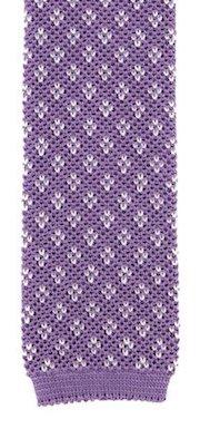 Barba knitted silk tie
