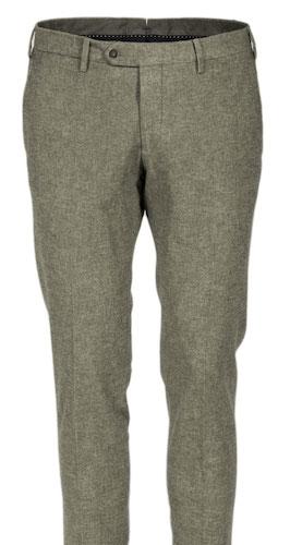 брюки из шерсти с эластаном