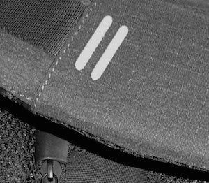 Лямки рюкзака и свето отражатели