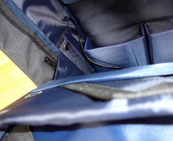 внутренности Bobby Backpack