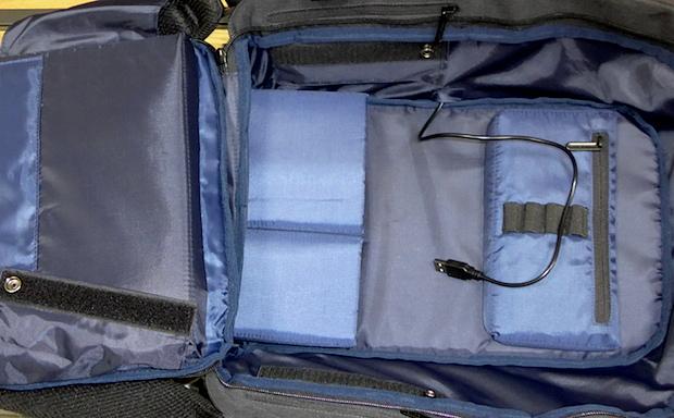 рюкзак который полностью открывается