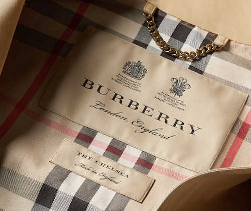 Burberry Made in England