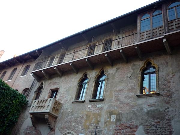 Стена веронского дома Джульетты